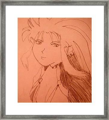 Ryoko Framed Print by April Patterson