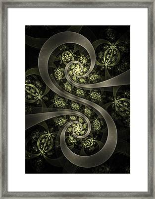 S Curve Framed Print by David April