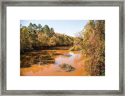 Sabine River Near Big Sandy Texas Photograph Fine Art Print 4080 Framed Print by M K  Miller