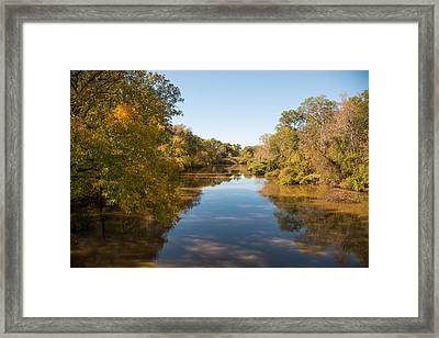 Sabine River Near Big Sandy Texas Photograph Fine Art Print 4087 Framed Print by M K  Miller