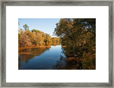 Sabine River Near Big Sandy Texas Photograph Fine Art Print 4090 Framed Print by M K  Miller
