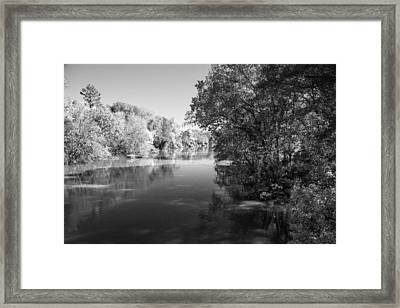 Sabine River Near Big Sandy Texas Photograph Fine Art Print 4091 Framed Print by M K  Miller