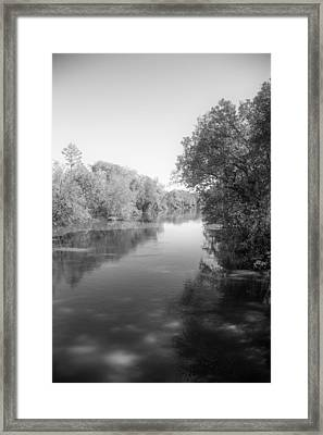 Sabine River Near Big Sandy Texas Photograph Fine Art Print 4094 Framed Print by M K  Miller