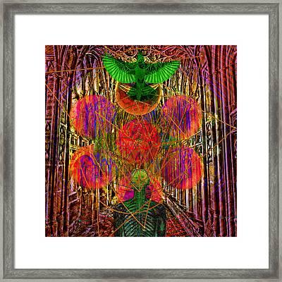 Sacred Energy Solarlife Framed Print by Joseph Mosley