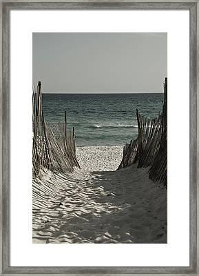 Sacred Path Framed Print by Jonathan Ellis Keys