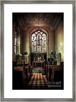 Sacredness  Framed Print by Evelina Kremsdorf