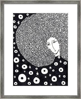 Sacree Cher Framed Print by Dom Dip