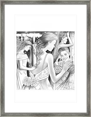 Sad Memories  Framed Print by Mira Ostojic