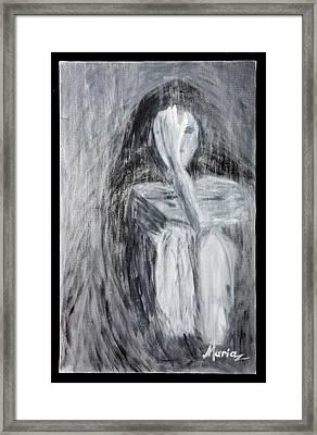 Sadness Framed Print by Marinela Croitoru