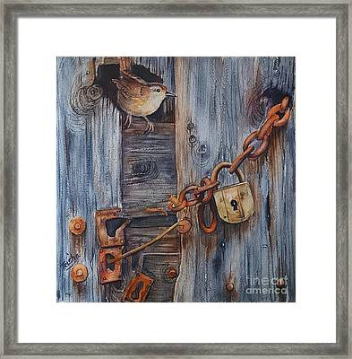 Safe Haven Framed Print by Patricia Pushaw