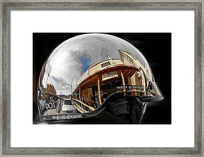 Safety Is Sexy Framed Print by Christine Till