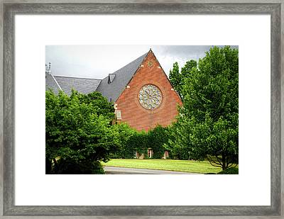 Sage Chapel Cornell University Ithaca New York 02 Framed Print by Thomas Woolworth