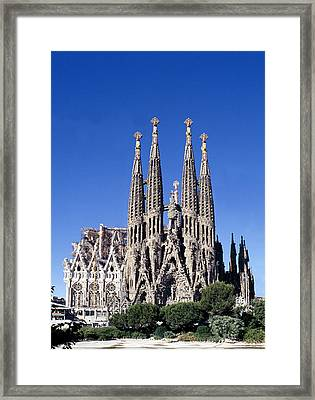 Sagrada Familia Barcelona Framed Print by Peter Phipp