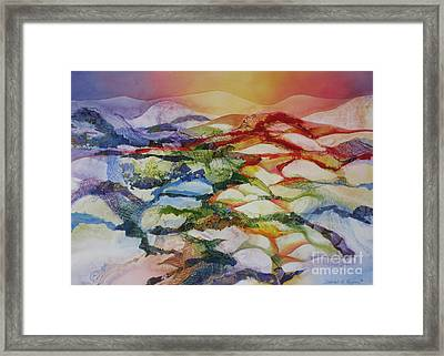 Sahara Framed Print by Deborah Ronglien