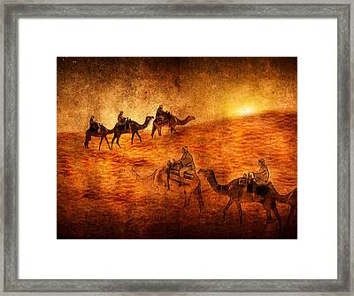 Sahara Framed Print by Svetlana Sewell