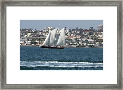 Sailboats 2 Framed Print by Joseph R Luciano