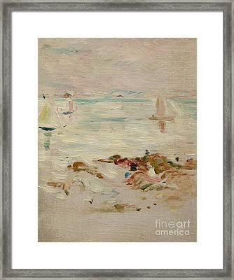 Sailboats Framed Print by Berthe Morisot