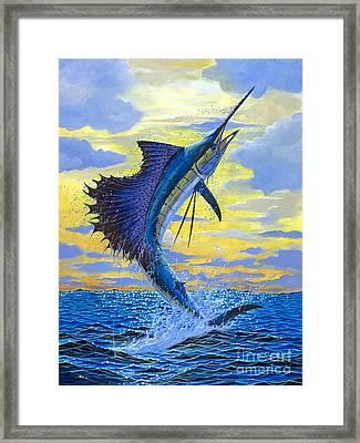 Sailfish Point Framed Print by Carey Chen