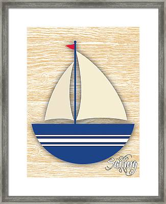 Sailing Collection Framed Print by Marvin Blaine