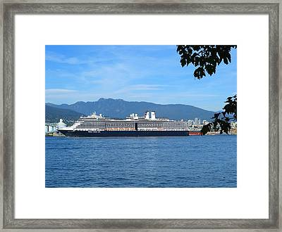 Sailing For Alaska Framed Print by Will Borden