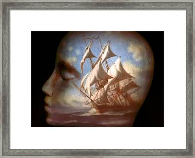 Sailing Framed Print by Jeff  Gettis