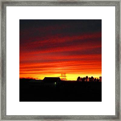 Sailor's Delight Framed Print by Gloria Houlne
