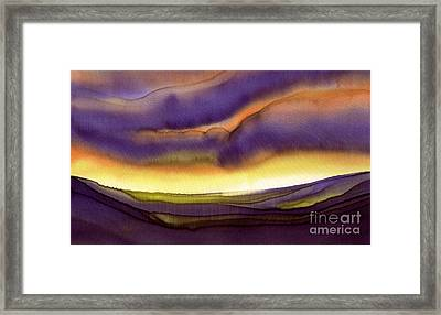 Sailor's Morning Framed Print by Addie Hocynec