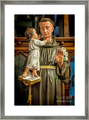 Saint Anthony Framed Print by Adrian Evans