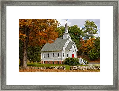Saint Bridget Cornwall Ct Framed Print by Susan Candelario