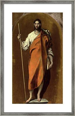Saint James The Greater Framed Print by El Greco