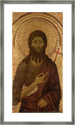 Saint John The Baptist Framed Print by Mountain Dreams