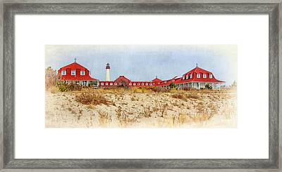 Saint Mary By-the-sea Framed Print by Carolyn Derstine