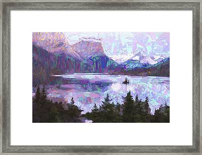 Saint Mary Colors II Framed Print by Jon Glaser