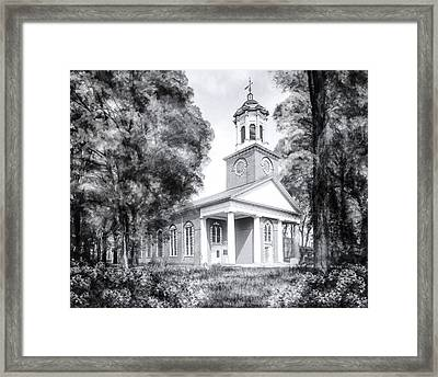 Saint Paul's Church - Historic Augusta Framed Print by Mark E Tisdale