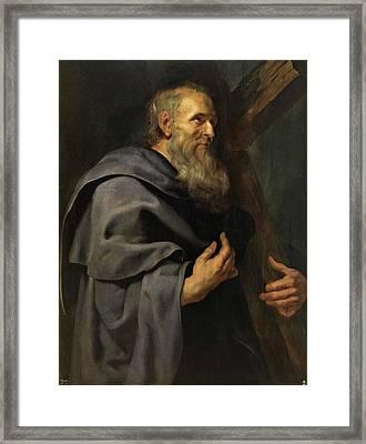 Saint Philip Framed Print by Peter Paul Rubens