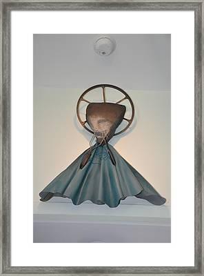 Saint Praise Framed Print by Michael Jude Russo