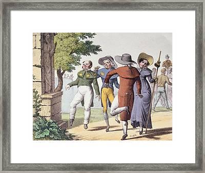 Saint Vitus Dance Framed Print by Langlume