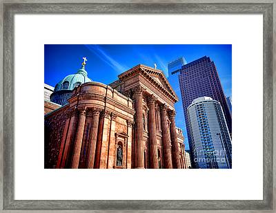 Saints Peter And Paul In Philadelphia   Framed Print by Olivier Le Queinec