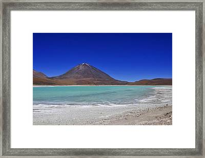 Salar De Uyuni 28 Framed Print by Skip Hunt