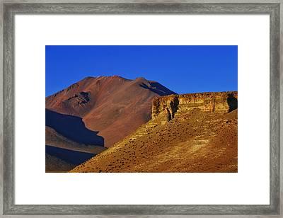 Salar De Uyuni Tour 21 Framed Print by Skip Hunt