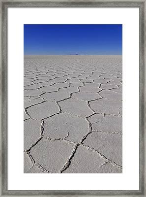 Salar De Uyuni Tour 62 Framed Print by Skip Hunt