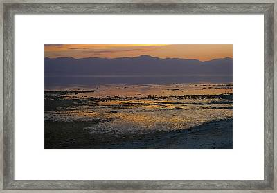 Salton Framed Print by Skip Hunt