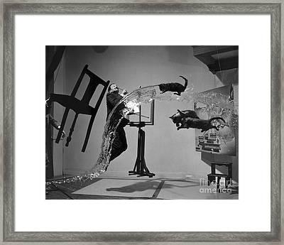 Salvador Dali 1904-1989 Framed Print by Granger