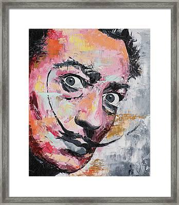 Salvador Dali Framed Print by Richard Day
