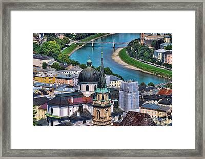 Salzburg Austria Europe Framed Print by Sabine Jacobs