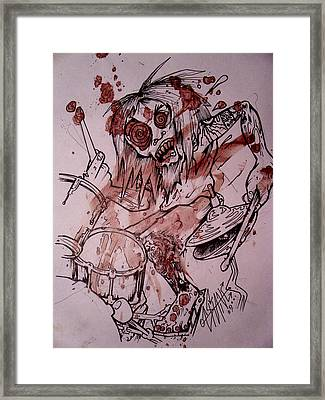 Sam Hane Self Portrait Framed Print by Sam Hane
