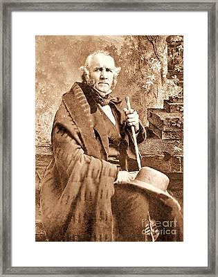 Sam Houston Framed Print by Pg Reproductions