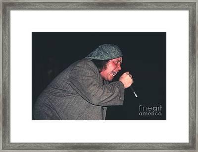 Sam Kinison Framed Print by David Plastik