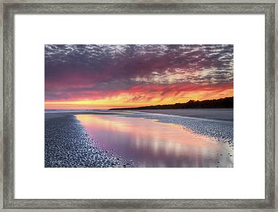 Same Night Six Fifteen Framed Print by Phill Doherty