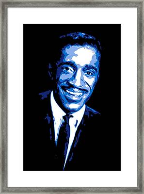Sammy Davis Framed Print by DB Artist